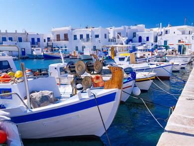 Villaggio di Naoussa Isola di Paros