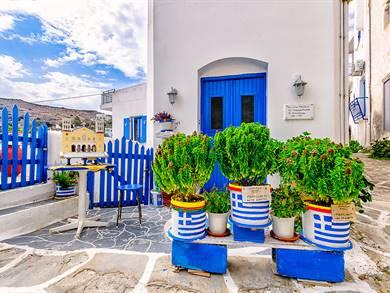 Villaggio di Lefkes Isola di Paros