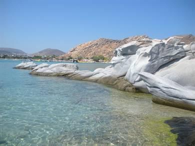Spiaggia di Kolymbithres Isola di Paros
