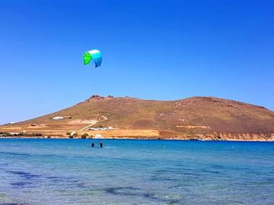 Spiaggia di Molos Isola di Paros