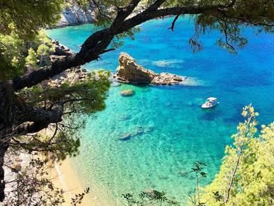 Spiaggia di Megali Ammos Isola di Alonissos