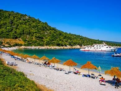 Spiaggia di Leftos Gialos Isola di Alonissos