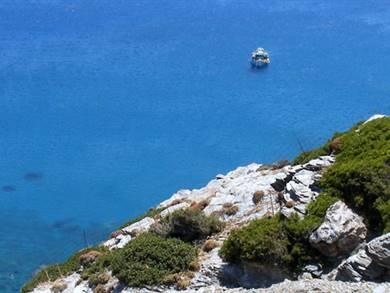 Spiaggia di Mourou Isola di Amorgos