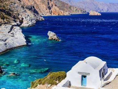 Spiaggia di Agia Anna Isola di Amorgos