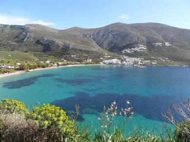 Spiaggia di Aegiali Isola di Amorgos