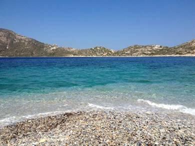 Spiaggia di Agios Pavlos Isola di Amorgos