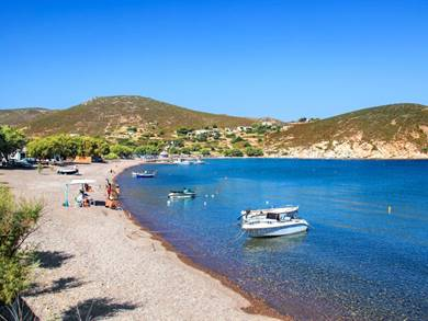 Spiaggia di Kampos Isola di Patmos