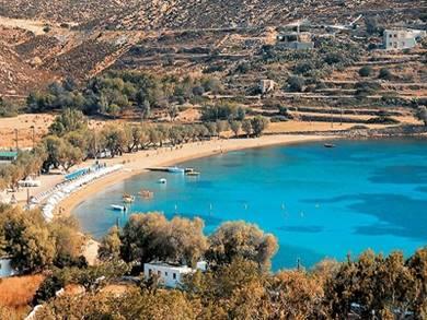 Spiaggia di Agrio Livadi Isola di Patmos