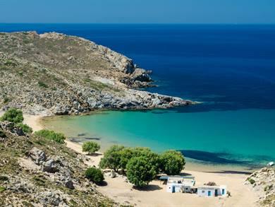 Spiaggia di Psili Ammos Isola di Patmos
