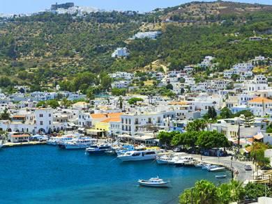 Villaggio di Skala Isola di Patmos