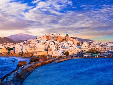 Naxos Town il Capoluogo Isola di Naxos