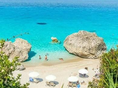 Spiaggia di Kalamitsi Isola di Lefkada