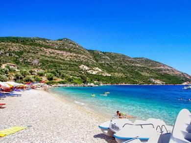 Spiaggia di Mikros Gialos Isola di Lefkada