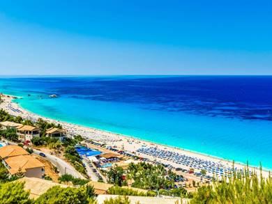 Spiaggia di Kathisma Isola di Lefkada