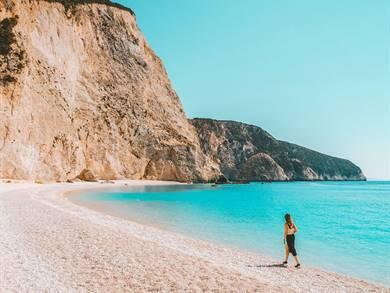 Spiaggia di Porto Katsiki Isola di Lefkada