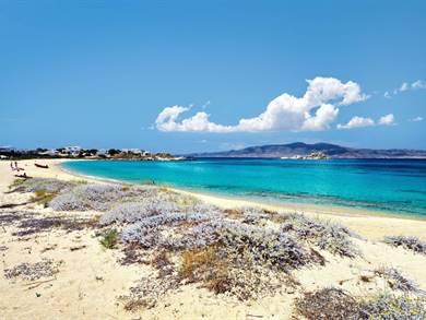 Spiaggia di Mikri Vigla Isola di Naxos