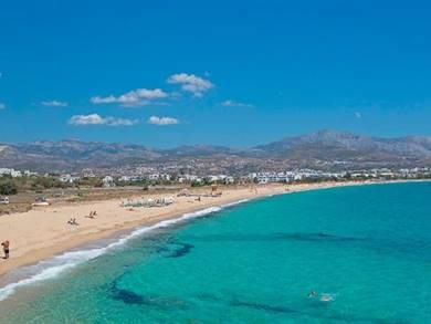Spiaggia di Agia Anna Isola di Naxos
