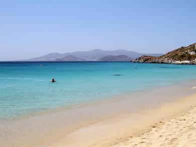 Spiaggia di Saint Geroge Isola di Naxos
