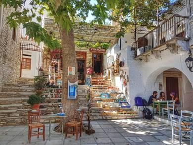 Villaggio di Apiranthos Isola di Naxos