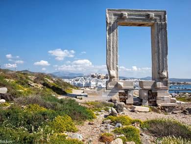 Portara Isola di Naxos