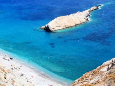 Spiaggia di Katergo Beach Isola di Folegandros