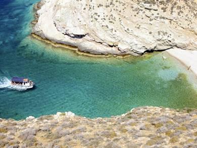 Spiaggia di Livadaki Beach Isola di Folegandros
