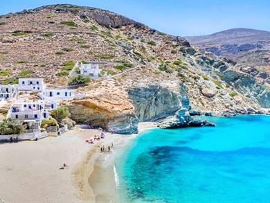 Spiaggia di Agali Beach Isola di Folegandros