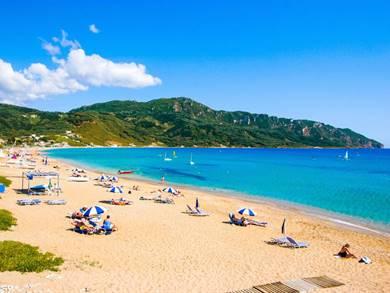 Spiaggia di Agios Georgios Beach Isola di Corfù