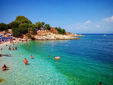 Spiaggia di Bataria Isola di Corfù