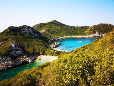 Spiaggia di Porto Timoni Isola di Corfù