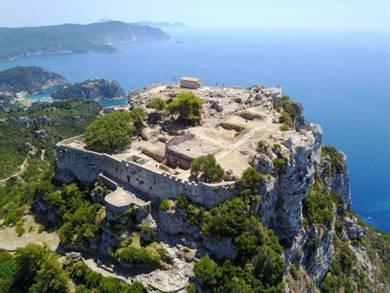 Fortezza di Angelokastro Isola di Corfù